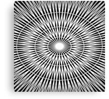 Speed of Light Geometry Canvas Print
