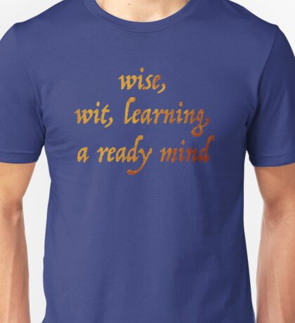 A Ready Mind Unisex T-Shirt
