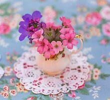 Summer flowers by Zoe Power