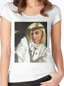 Kylie Jenner Sun Women's Fitted Scoop T-Shirt