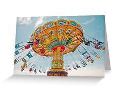 Fairground attraction Greeting Card