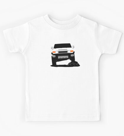 Japanese Offroader Suspension Flex Kids Tee