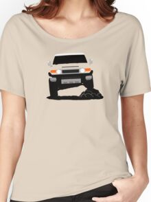 Japanese Offroader Suspension Flex Women's Relaxed Fit T-Shirt