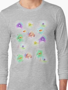 Doghouse and some neighbours Long Sleeve T-Shirt