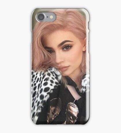 Kylie Jenner Pink 2 iPhone Case/Skin