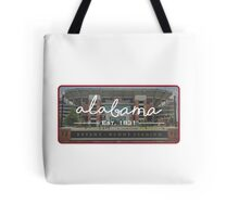 University of Alabama Football Tote Bag