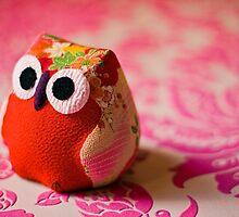 Kimono owl by Zoe Power