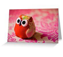 Kimono owl Greeting Card