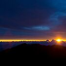 Volcano Sunrise by diggle