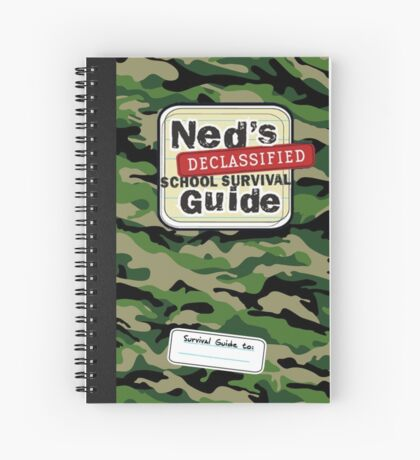 ned's declassified school survival Spiral Notebook