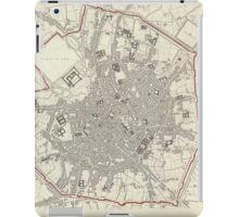 Vintage Map of Milan Italy (1832) iPad Case/Skin
