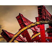 Paddle Wheel Abstract Photographic Print