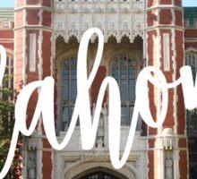 University of Oklahoma Sticker