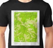 USGS TOPO Map California CA Blue Nose Mtn 288507 1951 24000 geo Unisex T-Shirt