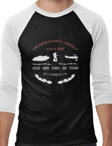 Battlefield Teabagging Men's Baseball ¾ T-Shirt
