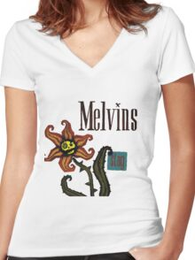 Melvins- Stag Women's Fitted V-Neck T-Shirt