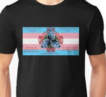 LeatherWing Coat of Arms Trans Pride Unisex T-Shirt