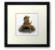 The Horny Toad Sheriff Framed Print