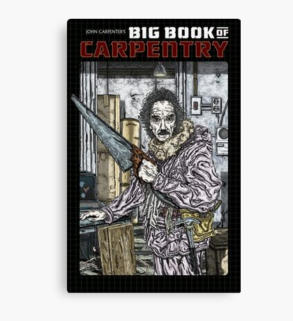 John Carpenter's Big Book Of Carpentry Canvas Print