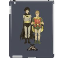 The Adventures of Hat-man and John the Boy Wonder iPad Case/Skin