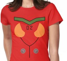 Plugsuit 02 Detailing Womens Fitted T-Shirt