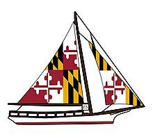 Maryland Skipjack Photographic Print