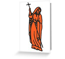Santa Muerte Greeting Card