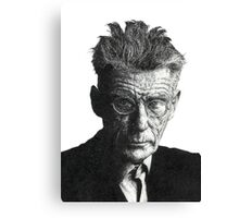 Samuel Beckett - Irish Author Canvas Print