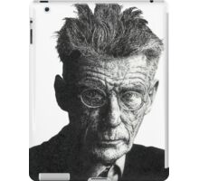 Samuel Beckett - Irish Author iPad Case/Skin