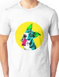 Yellow Bubble Australian Kelpi Pop Art Unisex T-Shirt