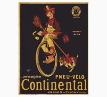 Vintage poster - Continental Bicycles Kids Tee