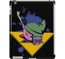 Pink cutie with shield and sword iPad Case/Skin