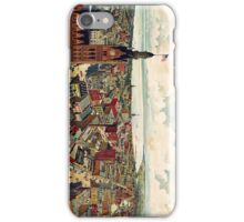 Vintage Pictorial Map of Milwaukee WI (1898) iPhone Case/Skin