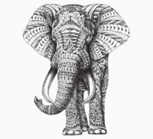 Ornate Elephant Kids Clothes