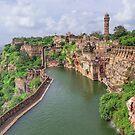 Chittorgarh Fort - Rajasthan - India by TonyCrehan