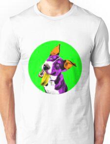 Green Bubble Kelpie Pop Art Unisex T-Shirt