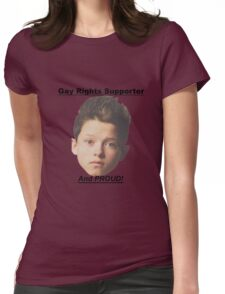 Jacob Sartorius Gay Rights Supporter Womens Fitted T-Shirt