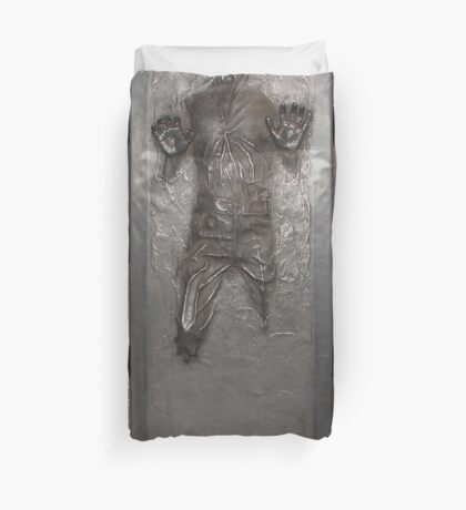Han Solo in carbonite duvet cover Duvet Cover