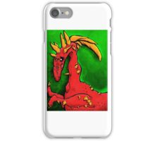 Dragon by a Toddler Re-Imagined iPhone Case/Skin