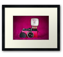 Mr. Pink - Diana F+ Camera Framed Print
