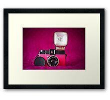 Mr. Pink - Diana F+ Camera Framed Print