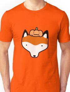 Pumpkin Fox Face Unisex T-Shirt