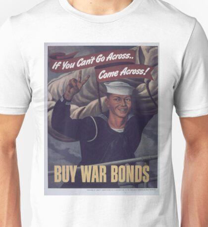 Vintage poster - Buy War Bonds Unisex T-Shirt