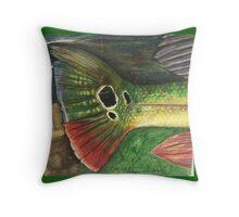 Redfish Tail Throw Pillow