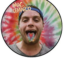 Mac Demarco in a hippy circle by Lucky Strike