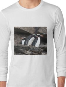 Snares Penguin Long Sleeve T-Shirt