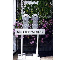 Stroller Parking Photographic Print