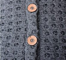Knitted pattern and buttons by GryThunes
