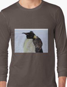 Molting Emperor Penguin Long Sleeve T-Shirt