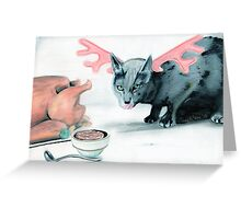 le minouche renne Greeting Card